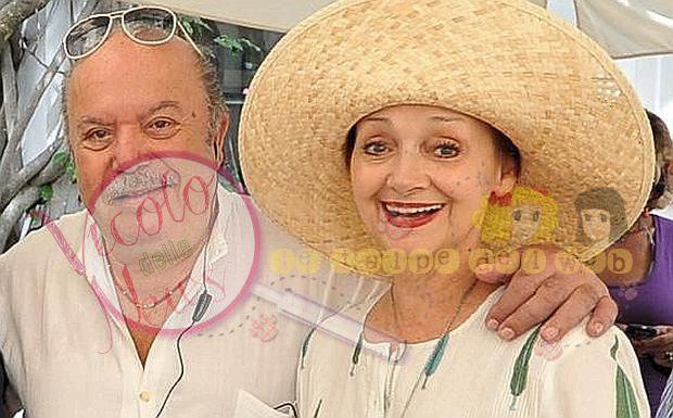 Lino Banfi all'Hotel La Palma con Maria Grazia Bottiglieri e Milena Vukotic