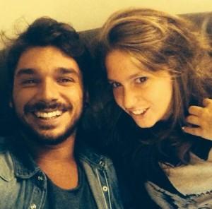 Andrea Cerioli con sua nipote Celeste