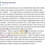 Manfredi Farlicchi risponde a Veronica Valà