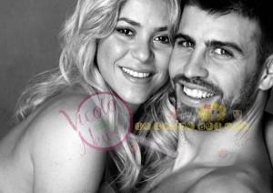 Shakira e Pique', neogenitori
