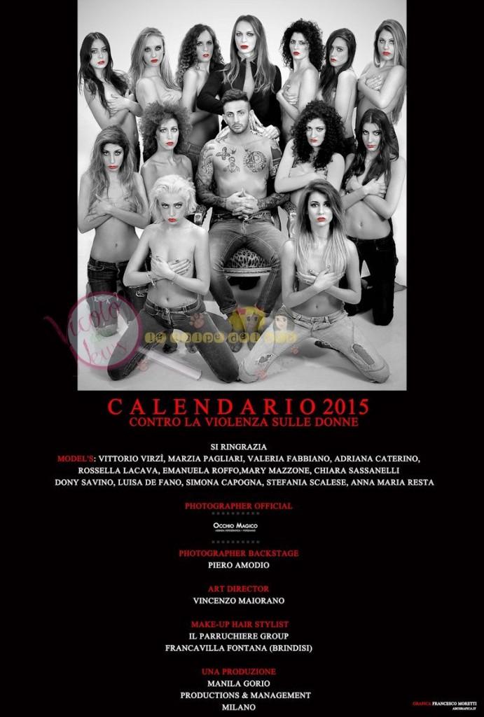 Manila Gorio Calendario.Manila Gorio Ha Prodotto Una Calendario Contro Il