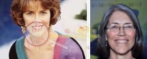 Carol Potter ieri e oggi