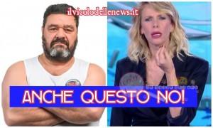 Franco Terlizzi e Alessia Marcuzzi