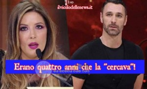 Selvaggia Lucarelli e Raul Bova