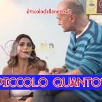 Alfonso Signorini e Cecilia Capriotti