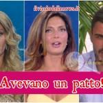 Alessia Mancini Francesco Monte e Eva Henger