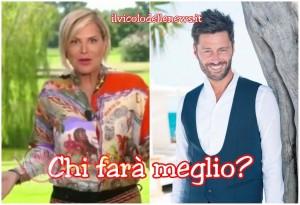Simona Ventura e Filippo Bisciglia