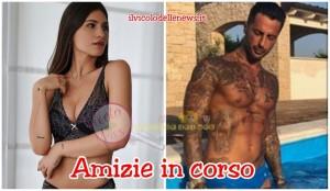 Ludovica Valli e Fabrizio Corona
