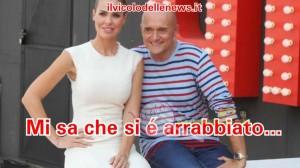 Ilary Blasi e Alfonso Signorini
