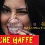 giulia de lellis, GAFFE