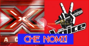 x factor e the voice giudici