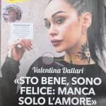 valentina dallari intervista