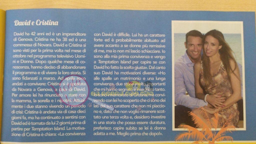 David e Cristina Temptation Island