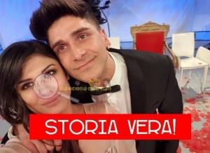 Giulia Cavaglià e Manuel galiano favola