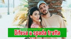 Giulia Salemi e Francesco Monte difesa