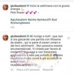Giulia Salemi messaggio
