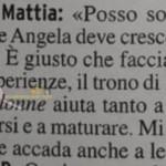 Mattia Marciano risposta