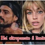 Nicole Mazzocato e Fabio Colloricchio basta