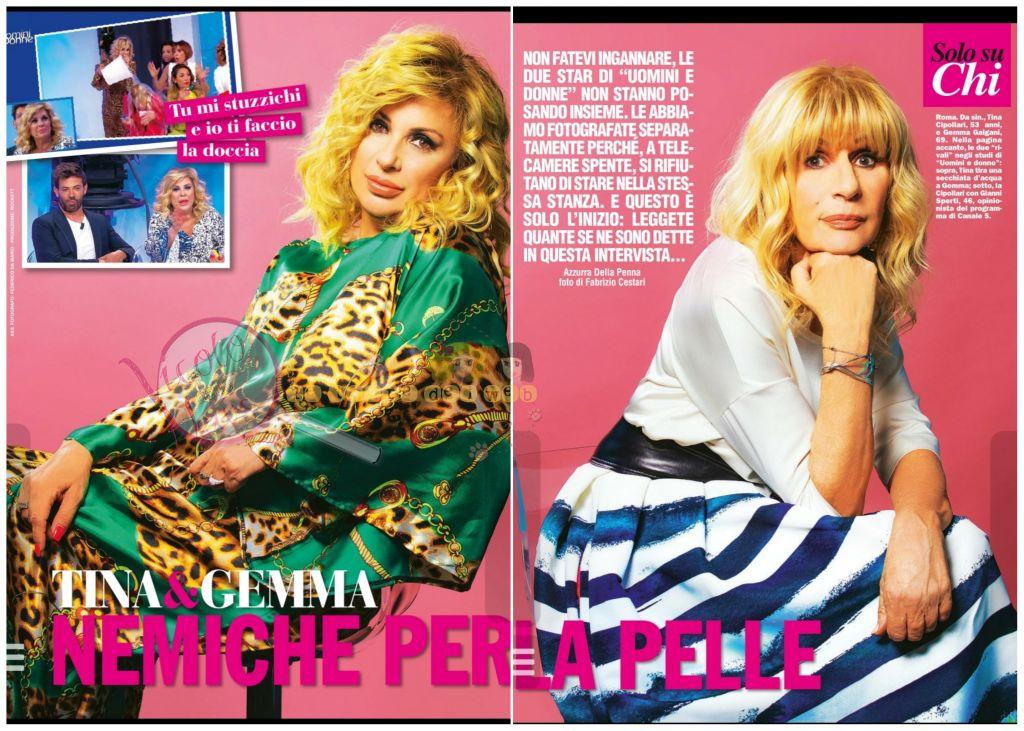 30a36614648f Tina Cipollari e Gemma Galgani intervista chi | Il Vicolo delle News