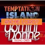 coppia Temptation Island trono over
