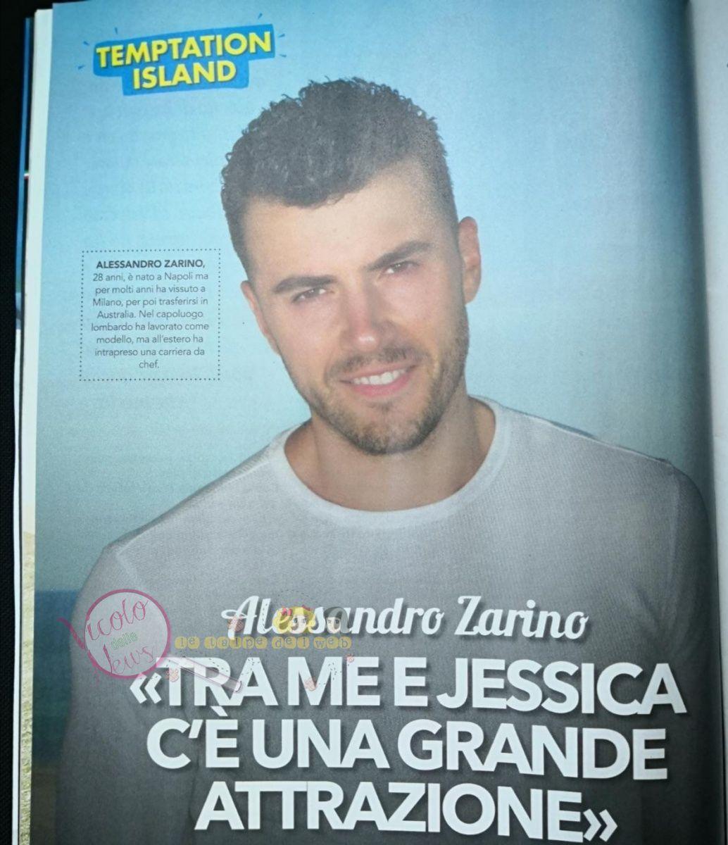 Alessandro Zarino Temptation Island