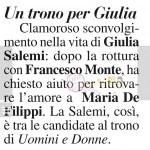 Giulia Salemi tronista