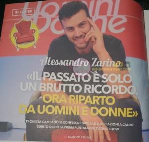 Alessandro Zarino intervista uomini e donne