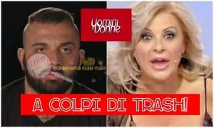 Damiano Er Faina e Tina Cipollari Uomini e Donne