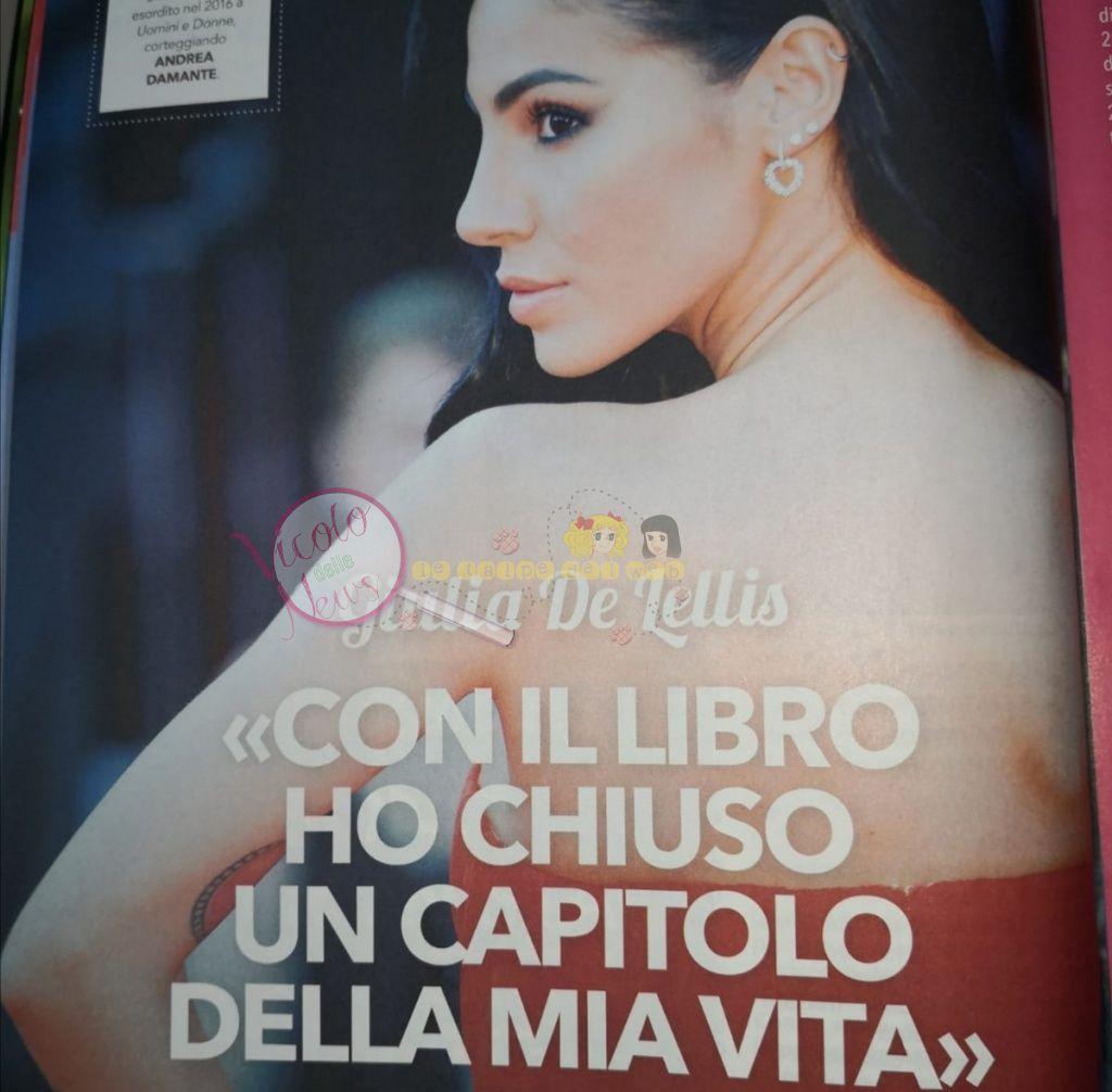 Giulia de Lellis intervista uomini e donne