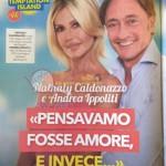 Nathalie caldonazzo e Andrea Ippoliti