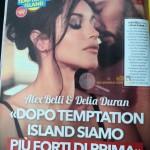 Alex Belli e Delia Duran intervista