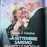 Biagio e Caterina trono over