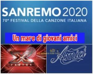 Sanremo 2020 amici