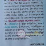 Andrea zelletta e Natalia paragoni risposta