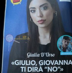 Giulia D'Urso intervista