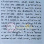 Giulia D'Urso risposta