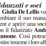 Giulia De Lellis e Andrea Iannone