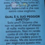 Cecilia Zagarrigo botta e risposta