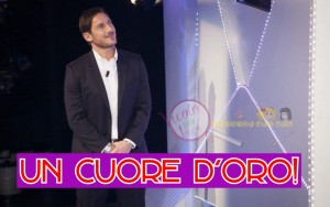 Francesco Totti a c'è posta per te