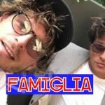 Gabriel Garko e Gabriele Rossi Famiglia