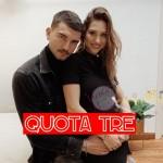 Marco Fantini e Beatrice Valli  incinta