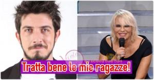 Paolo Ruffini e Maria De Filippi