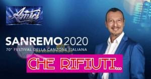 Sanremo 2020 amici amadeus