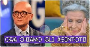 Alfonso Signorini e Barbara Alberti