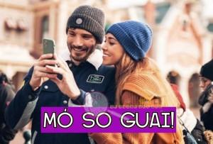 Stefano De Martino e Belen Rodriguez Guai
