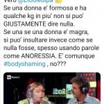 Alessia Marcuzzi difende Elodie