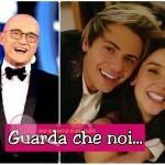 Alfonso Signorini e Paola Di Benedetto Federico Rossi