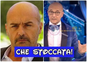 Luca Zingaretti e Alfonso Signorini