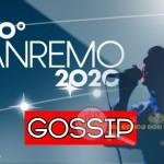 Sanremo 2020 gossip