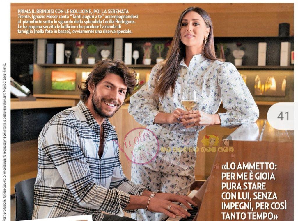 Cecilia Rodriguez e Ignazio Moser 2 | Il Vicolo delle News
